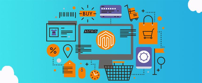 Интернет-магазин на базе Мадженто
